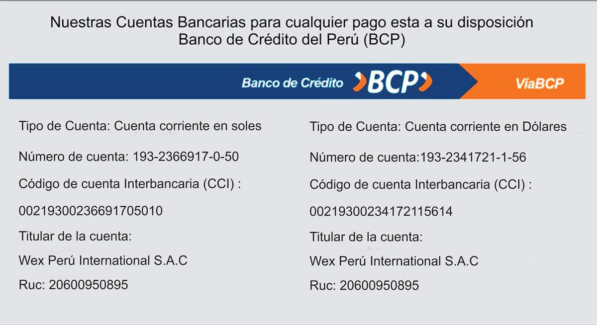 Numero de cuenta banco de credito for Codigos oficinas bancarias
